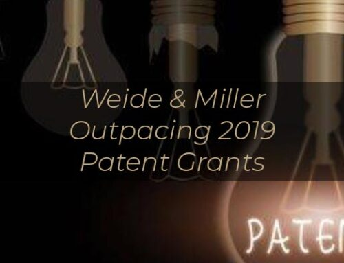 Weide & Miller Outpacing 2019 Patent Grants